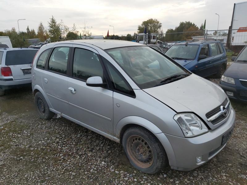 Naudotos automobilio dalys Opel MERIVA 2004 1.7 Mechaninė Vienatūris 4/5 d. Pilka 2020-10-10