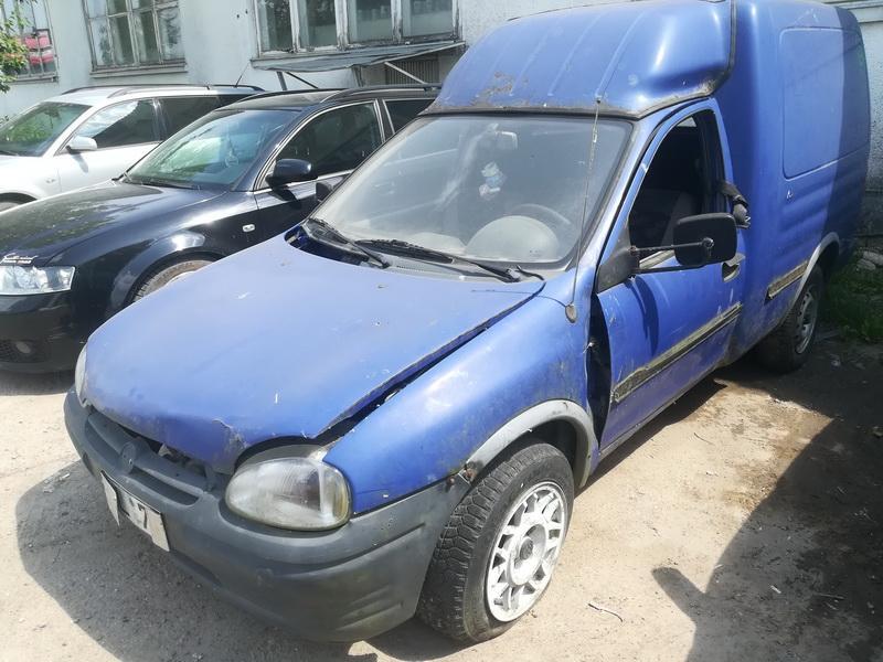 Naudotos automobiliu dallys Foto 3 Opel COMBO 1996 1.7 Mechaninė Komercinis 2/3 d. Melyna 2019-6-11 A4556