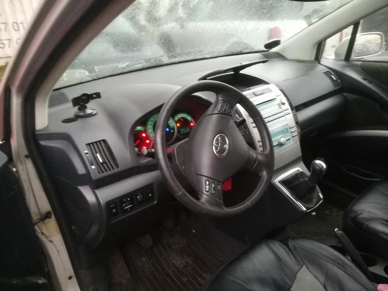 Naudotos automobilio dalys Toyota COROLLA VERSO 2006 2.2 Mechaninė Vienatūris 4/5 d. Pilka 2019-11-27