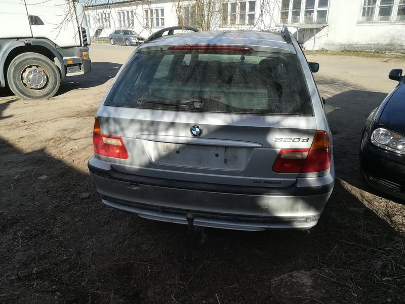 Naudotos automobiliu dallys Foto 9 BMW 3-SERIES 2000 2.0 Mechaninė Universalas 4/5 d. Pilka 2019-4-19 A4438