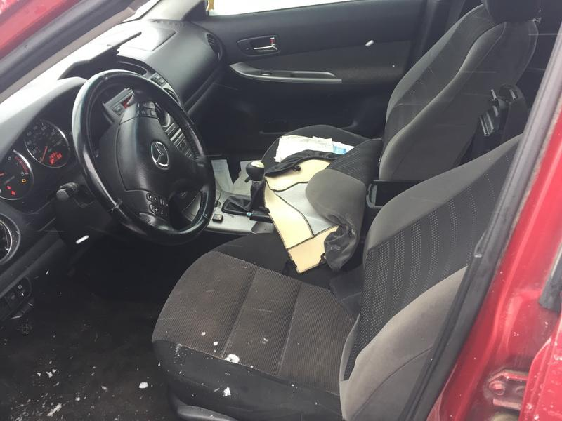 Naudotos automobiliu dallys Foto 7 Mazda 6 2003 2.3 Mechaninė Sedanas 4/5 d. Raudona 2019-2-08 A4311