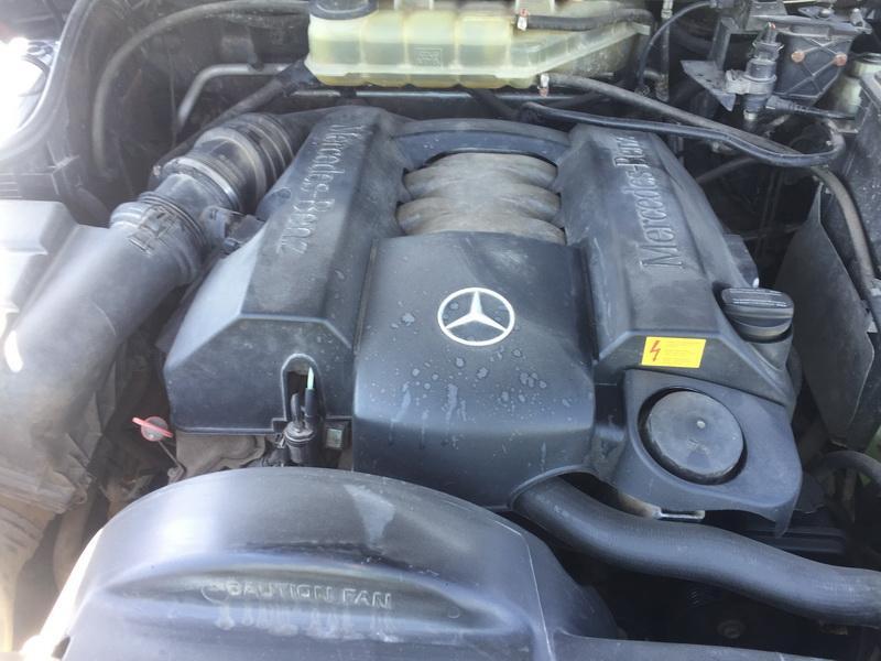 Naudotos automobiliu dallys Foto 3 Mercedes-Benz ML-CLASS 2000 3.2 Automatinė Visureigis 4/5 d. Juoda 2018-5-07 A3735