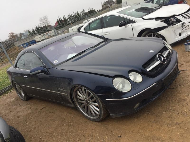 Подержанные Автозапчасти Foto 3 Mercedes-Benz CL-CLASS 2000 5.0 автоматическая Купе 2/3 d. синий 2018-11-07 A4175