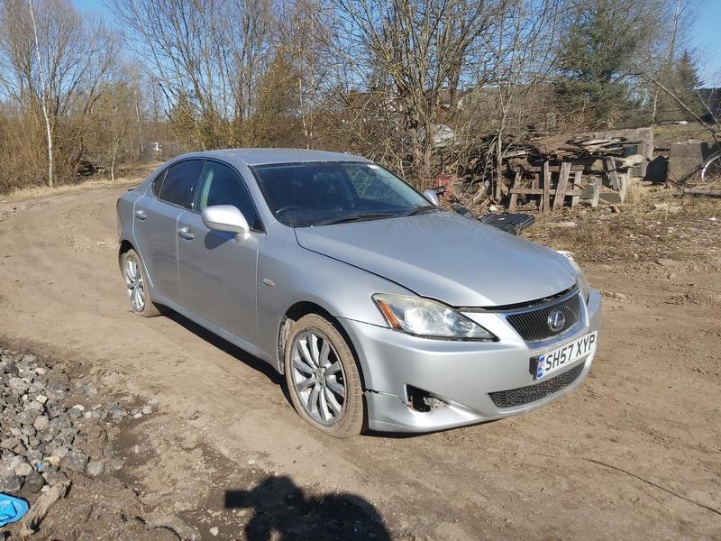 Naudotos automobilio dalys Lexus IS - CLASS 2007 2.2 Mechaninė Sedanas 4/5 d. Sidabrine 2020-3-31
