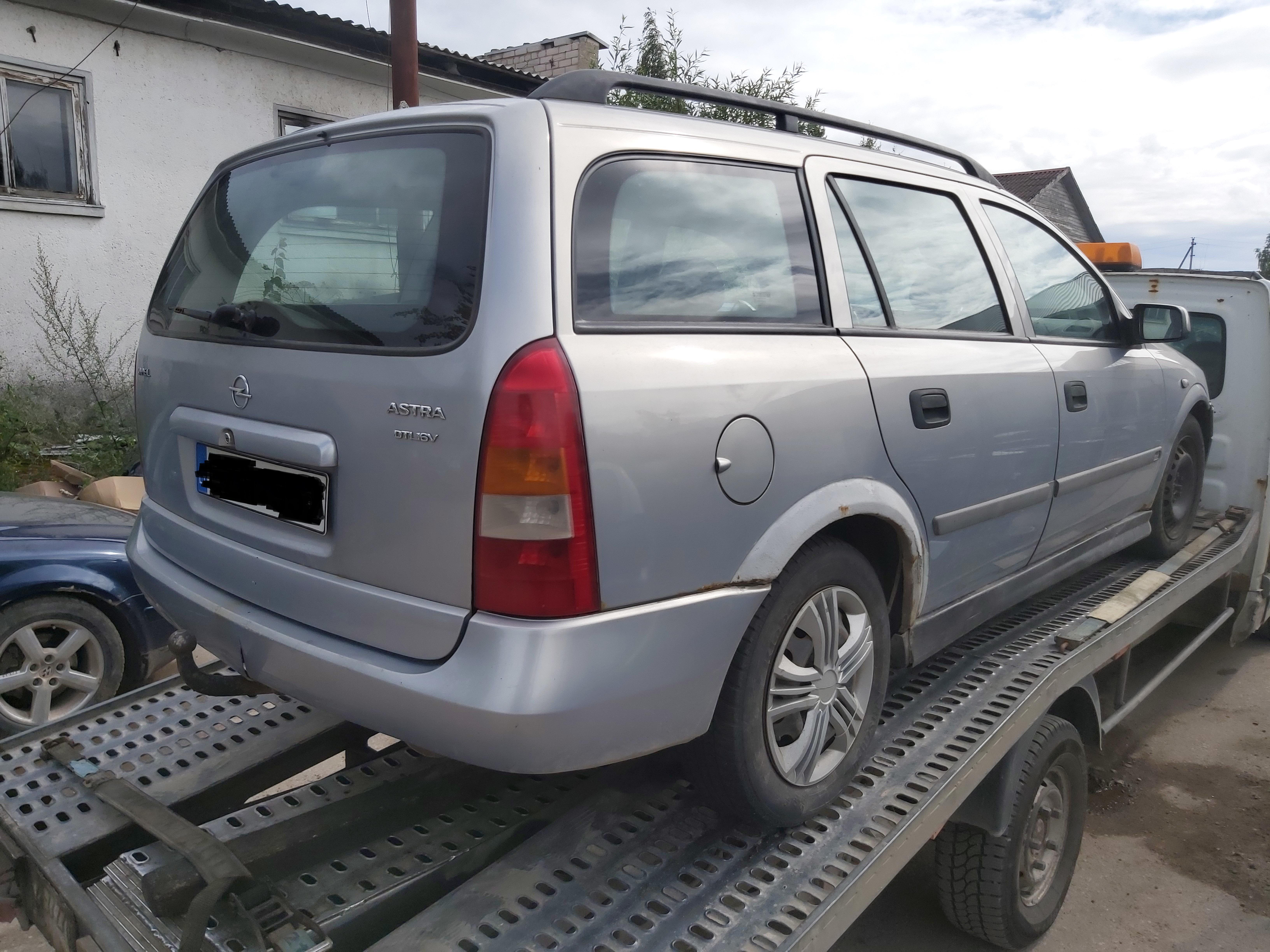 Подержанные Автозапчасти Foto 6 Opel ASTRA 2000 2.0 машиностроение универсал 4/5 d. Серый 2020-7-30 A5479
