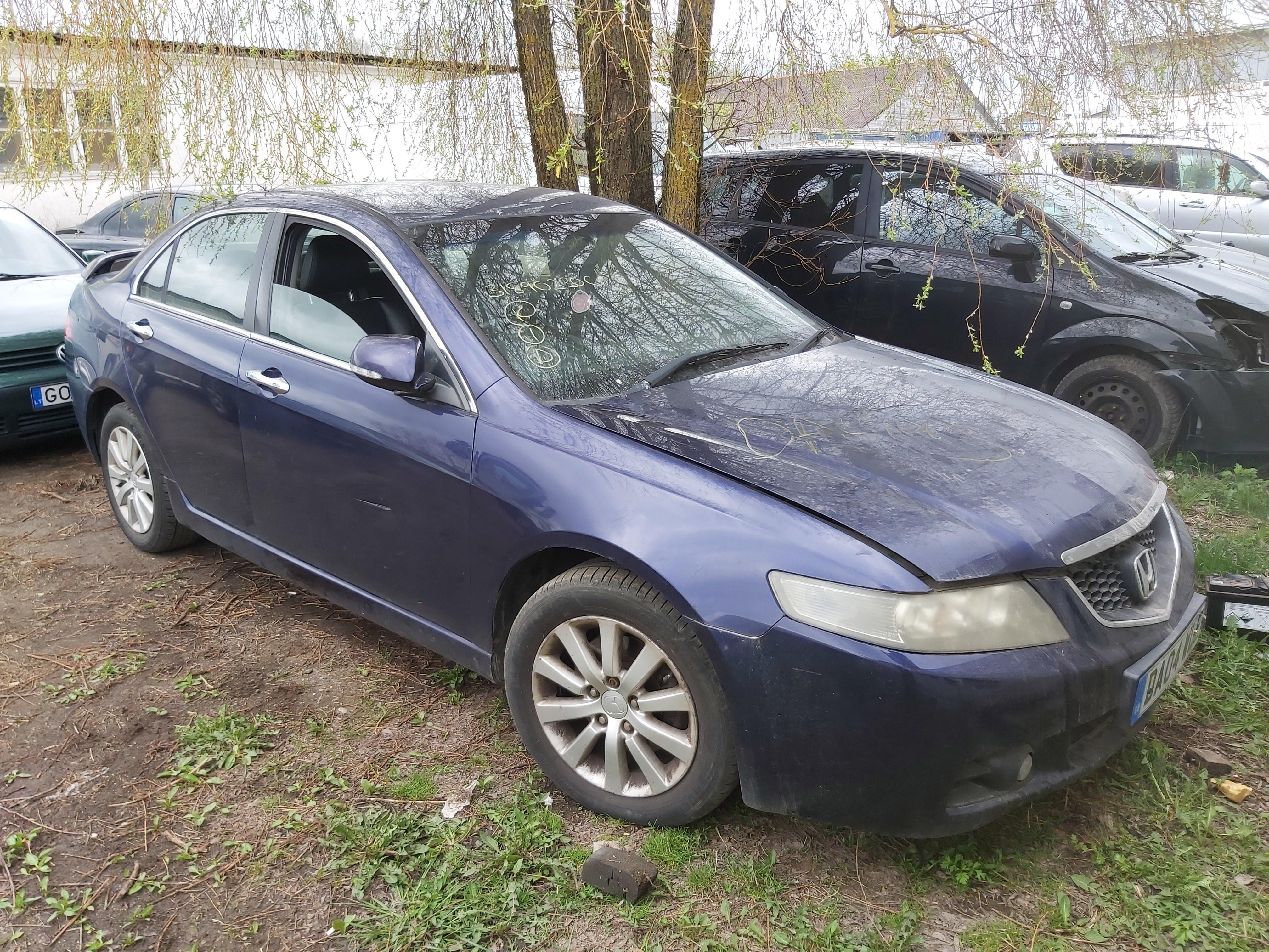 Naudotos automobilio dalys Honda ACCORD 2004 2.2 Mechaninė Sedanas 4/5 d. Melyna 2020-5-05