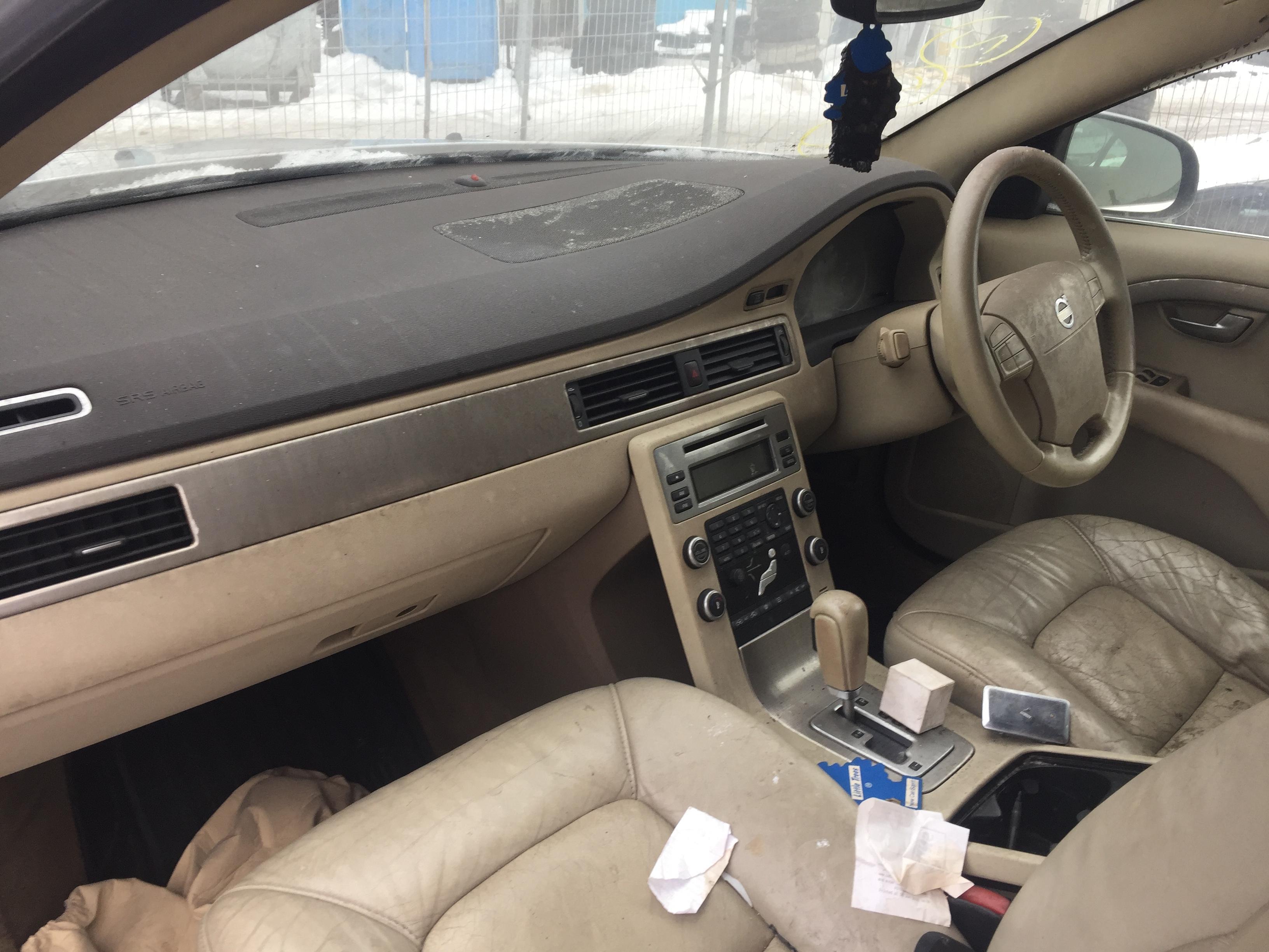 Naudotos automobiliu dallys Foto 4 Volvo S80 2008 2.4 Automatinė Sedanas 4/5 d. Sidabrine 2019-2-08 A4313