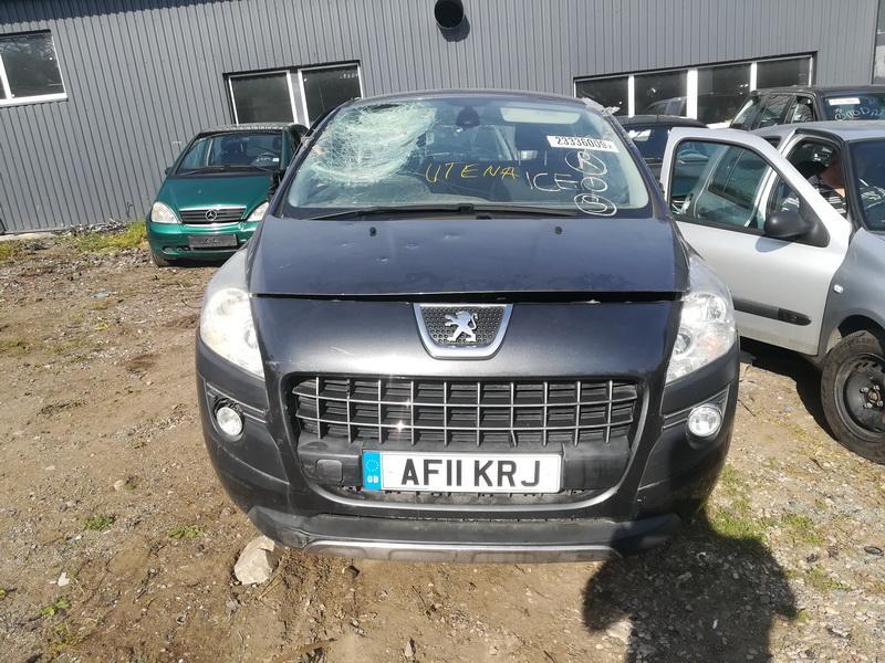 Naudotos automobilio dalys Peugeot 3008 2011 1.6 Mechaninė Visureigis 4/5 d. Pilka 2019-9-10