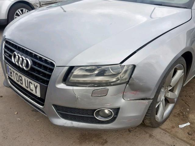 Naudotos automobilio dalys Audi A5 2008 3.0 Automatinė Kupė 4/5 d. Pilka 2019-4-03