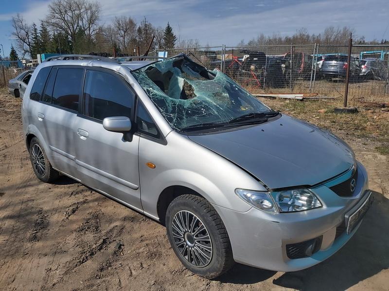 Naudotos automobilio dalys Mazda PREMACY 2004 1.8 Mechaninė Vienatūris 4/5 d. Pilka 2020-4-21