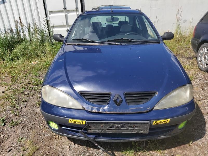 Naudotos automobiliu dallys Foto 3 Renault MEGANE 1999 1.4 Mechaninė Hečbekas 4/5 d. Melyna 2020-7-28 A5469
