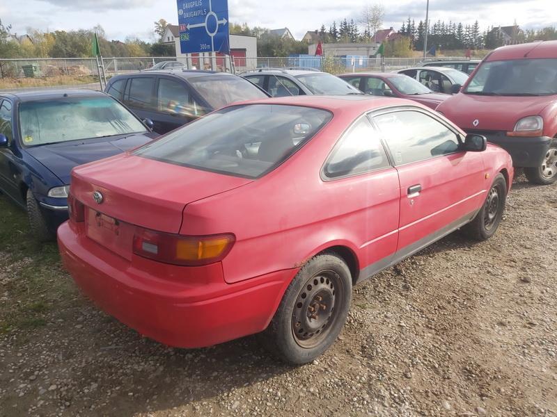 Naudotos automobiliu dallys Foto 8 Toyota PASEO 1997 1.5 Mechaninė Kupė 2/3 d. Raudona 2020-10-17 A5767