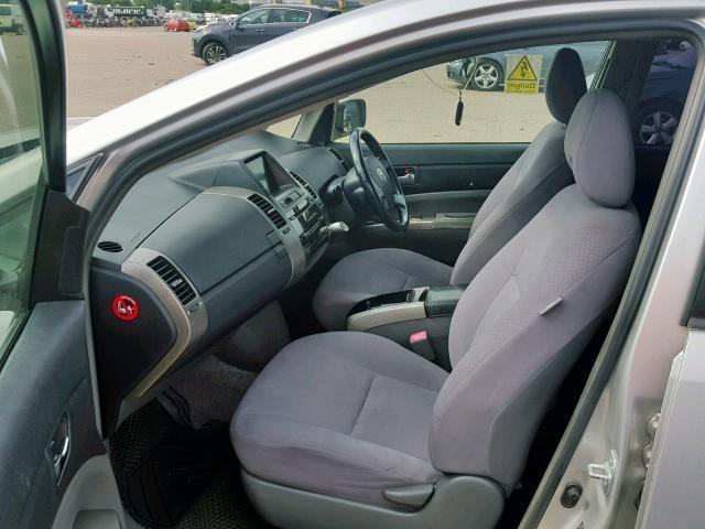 Naudotos automobiliu dallys Foto 5 Toyota PRIUS 2007 1.5 Automatinė Hečbekas 4/5 d. Sidabrine 2019-7-25 A4652