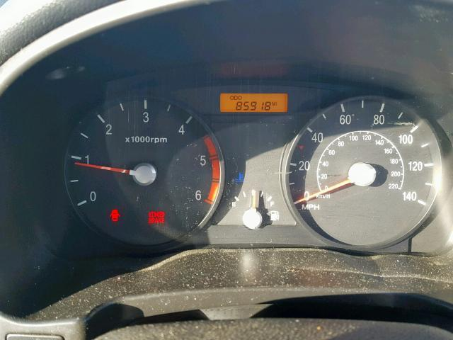 Naudotos automobiliu dallys Foto 8 Kia RIO 2008 1.5 Mechaninė Hečbekas 4/5 d. Juoda 2019-2-06 A4301