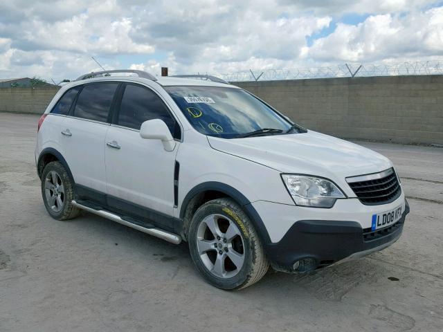 Naudotos automobiliu dallys Foto 1 Opel ANTARA 2008 2.0 Mechaninė Visureigis 4/5 d. Balta 2019-6-10 A4552