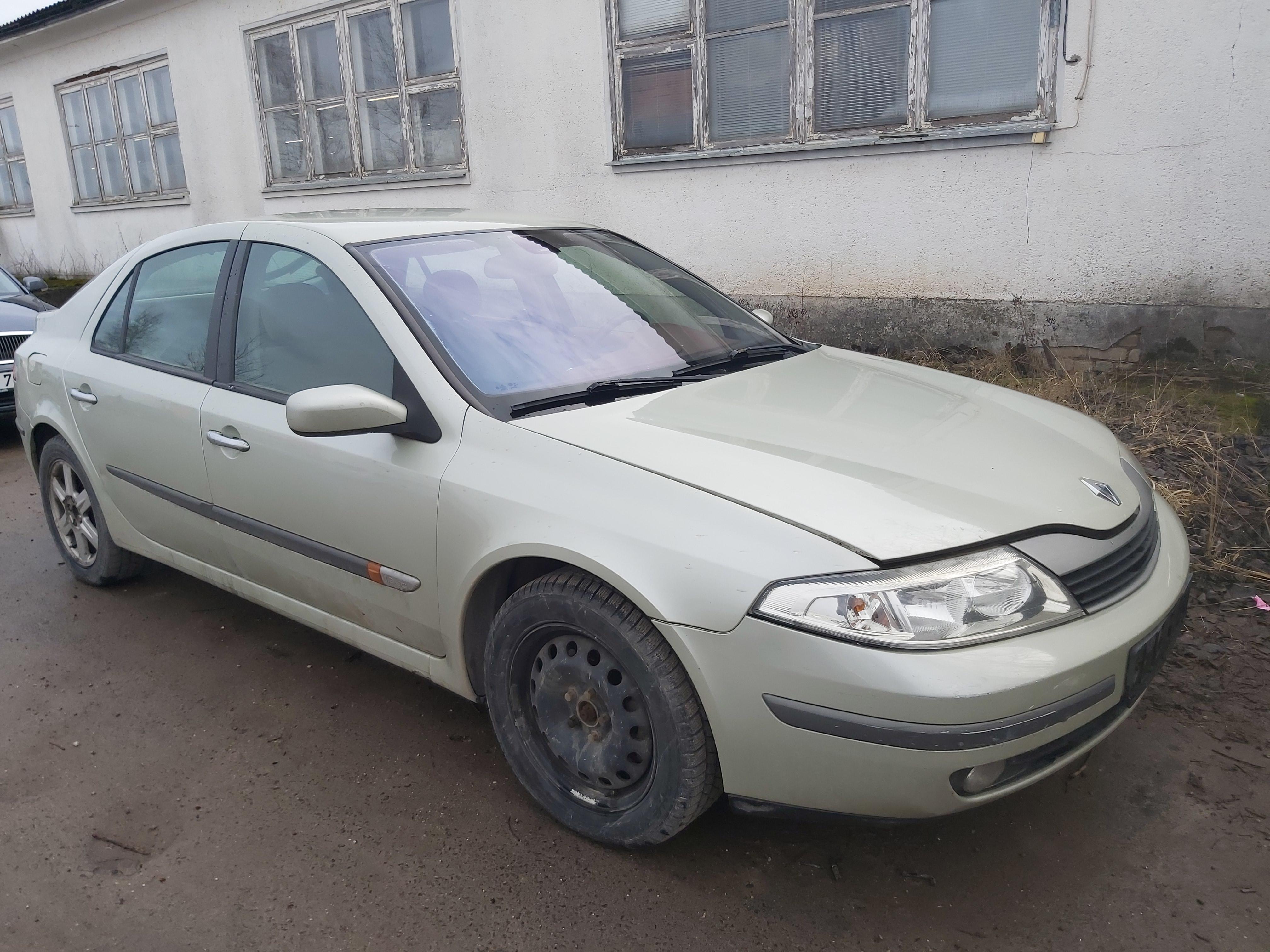 Renault LAGUNA 2001 1.9 Mechaninė