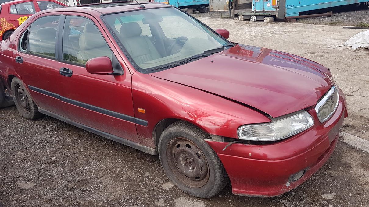 Naudotos automobilio dalys Rover 400-SERIES 1997 2.0 Mechaninė Hečbekas 4/5 d. Raudona 2017-7-04