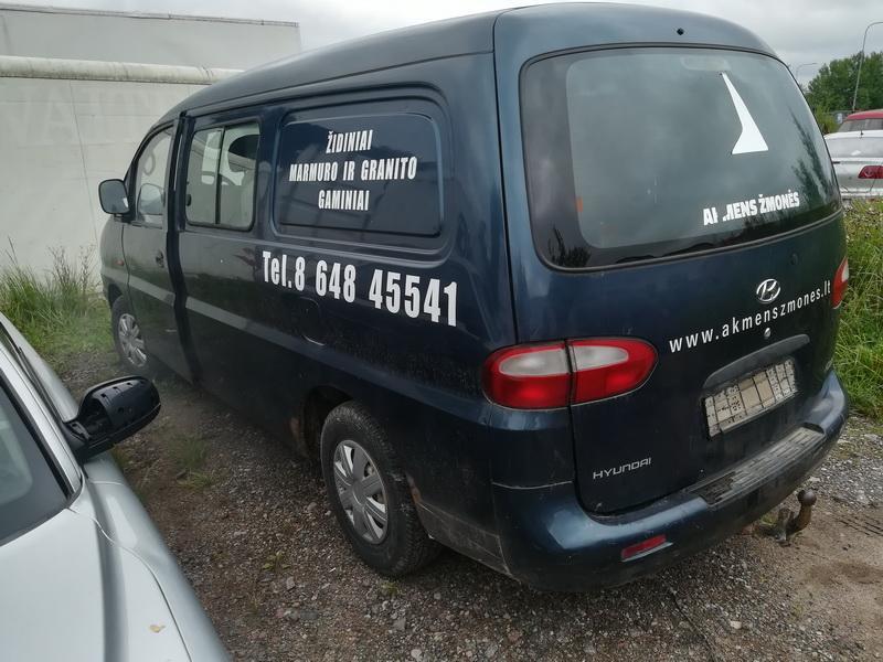 Naudotos automobiliu dallys Foto 7 Hyundai H200 1999 2.5 Mechaninė Krovininis mikroautobusas 2/3 d. Melyna 2019-7-26 A4657