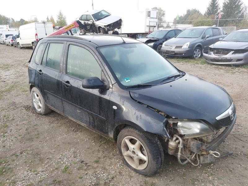 Naudotos automobilio dalys Mazda 2 2004 1.4 Mechaninė Hečbekas 4/5 d. Juoda 2020-10-07