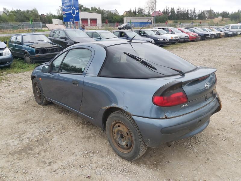 Naudotos automobiliu dallys Foto 9 Opel TIGRA 1999 1.6 Mechaninė Hečbekas 2/3 d. Melyna 2020-9-12 A5658