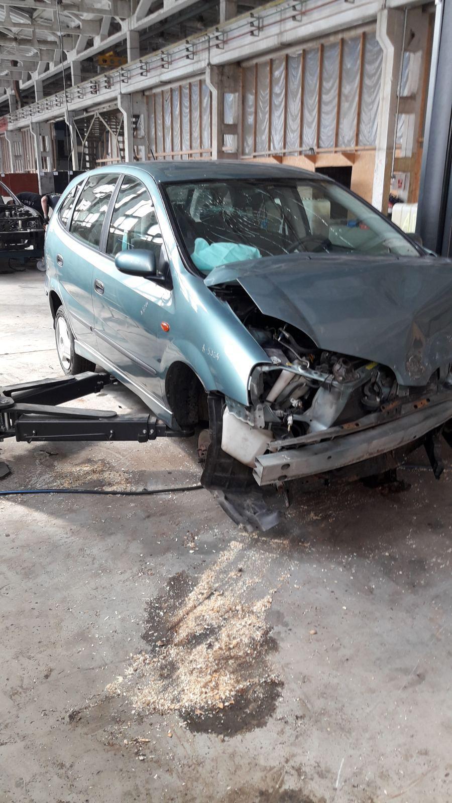 Naudotos automobilio dalys Nissan ALMERA TINO 2000 2.2 Mechaninė Vienatūris 4/5 d. Melyna 2020-6-16
