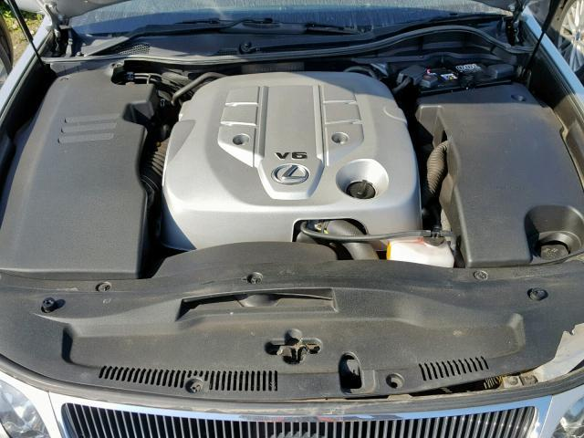 Naudotos automobiliu dallys Foto 7 Lexus GS - CLASS 2005 3.0 Automatinė Sedanas 4/5 d. Sidabrine 2019-5-29 A4530