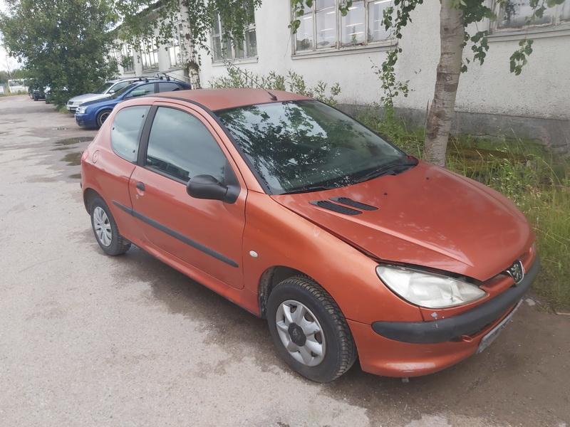 Naudotos automobilio dalys Peugeot 206 1999 1.1 Mechaninė Hečbekas 2/3 d. Ruda 2020-7-23