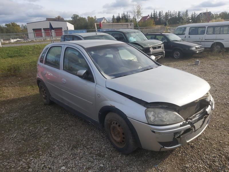 Подержанные Автозапчасти Opel CORSA 2005 1.2 автоматическая хэтчбэк 4/5 d. Серый 2020-10-20