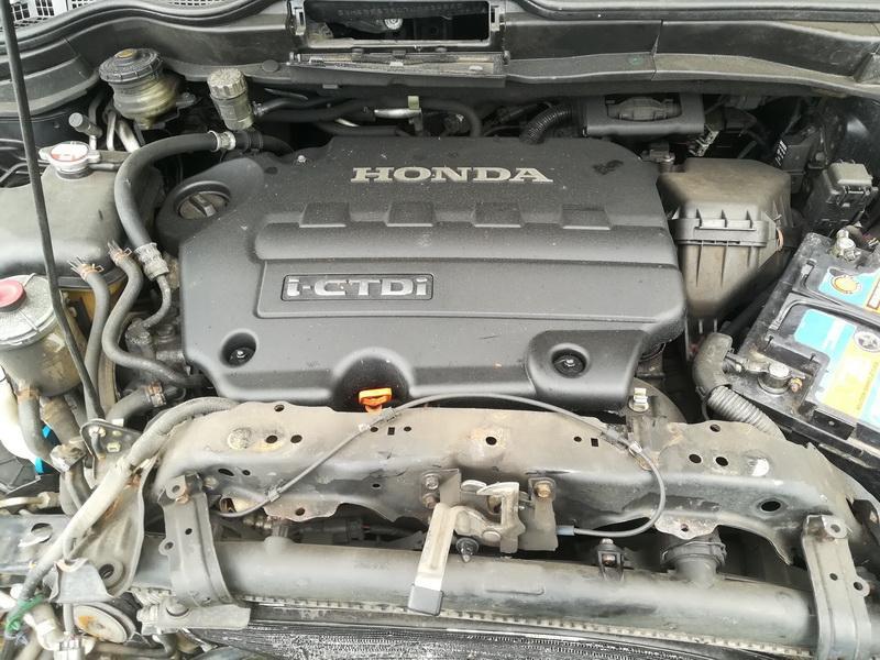 Naudotos automobiliu dallys Foto 2 Honda CR-V 2007 2.2 Mechaninė Visureigis 4/5 d. Juoda 2019-10-01 A4803