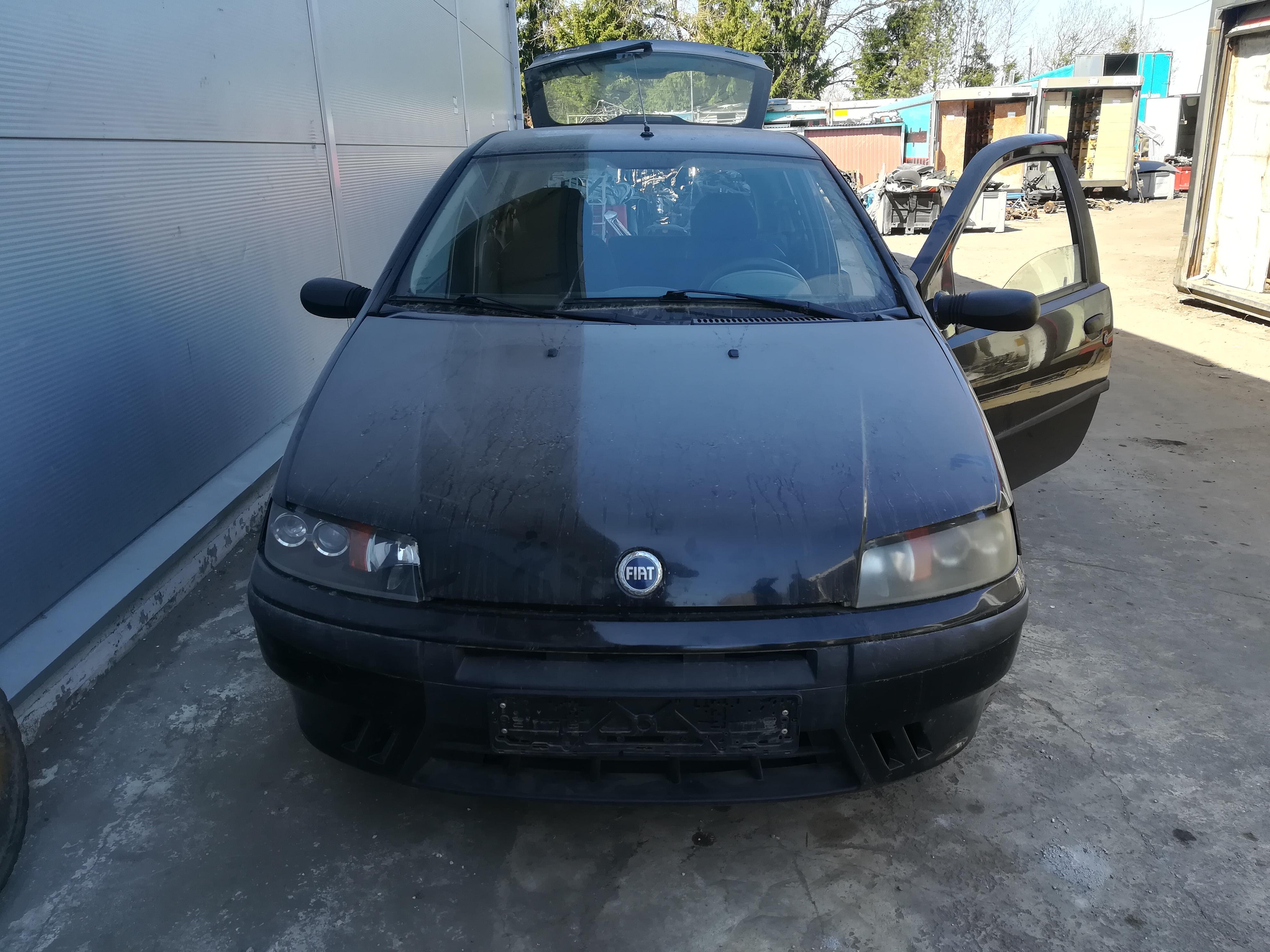 Naudotos automobilio dalys Fiat PUNTO 2000 1.2 Mechaninė Hečbekas 2/3 d. Juoda 2019-4-15