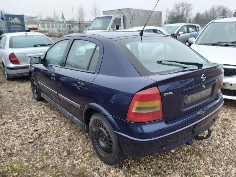 Naudotos automobiliu dallys Foto 7 Opel ASTRA 1999 1.7 Mechaninė Hečbekas 4/5 d. Melyna 2020-1-10 A5000