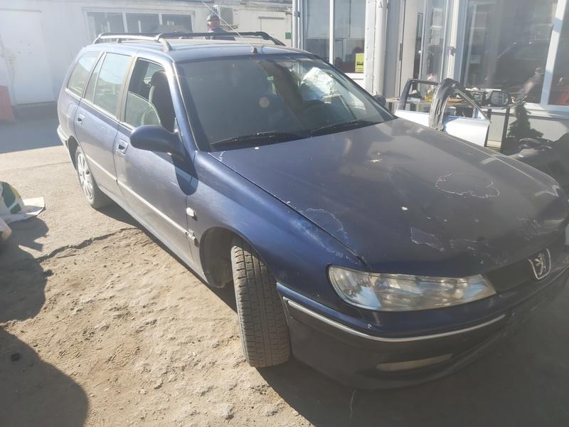 Подержанные Автозапчасти Peugeot 406 2001 2.0 машиностроение универсал 4/5 d. синий 2020-8-10