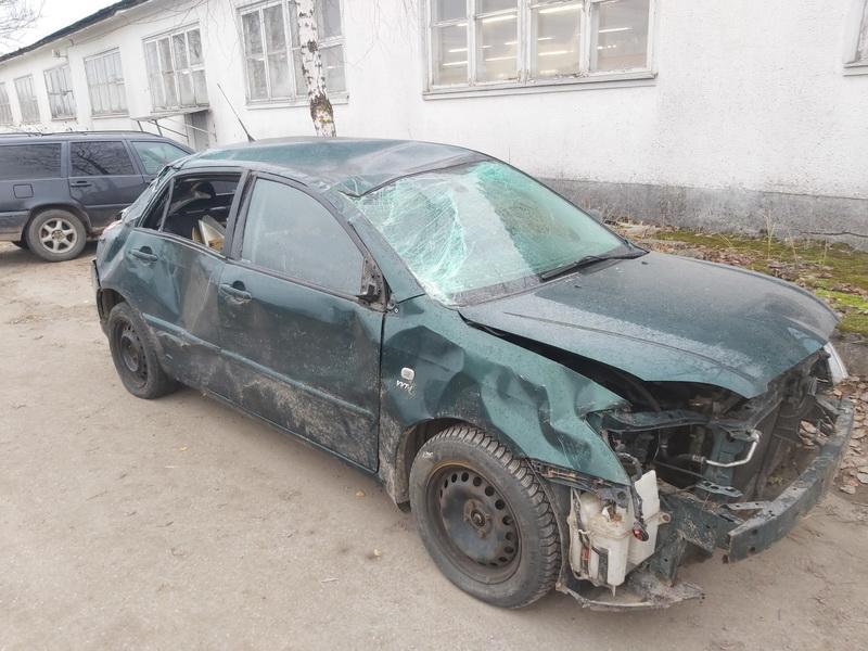 Naudotos automobilio dalys Toyota COROLLA 2002 1.4 Mechaninė Hečbekas 4/5 d. Zalia 2020-11-13