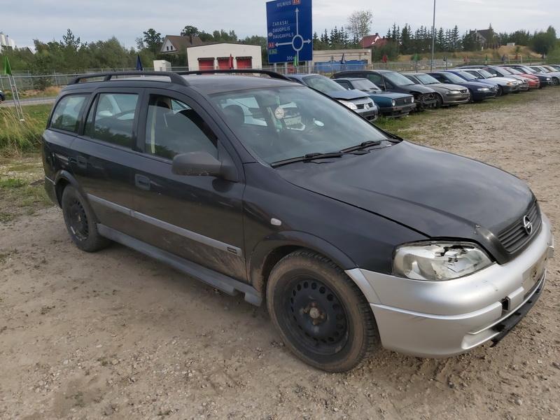 Naudotos automobilio dalys Opel ASTRA 2000 1.7 Mechaninė Universalas 4/5 d. Juoda 2020-9-03