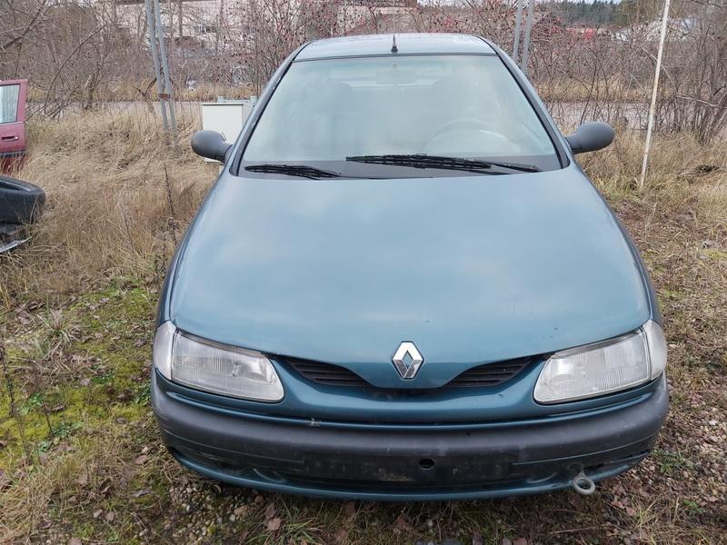 Naudotos automobilio dalys Renault LAGUNA 1997 2.2 Mechaninė Hečbekas 4/5 d. Zalia 2019-12-13