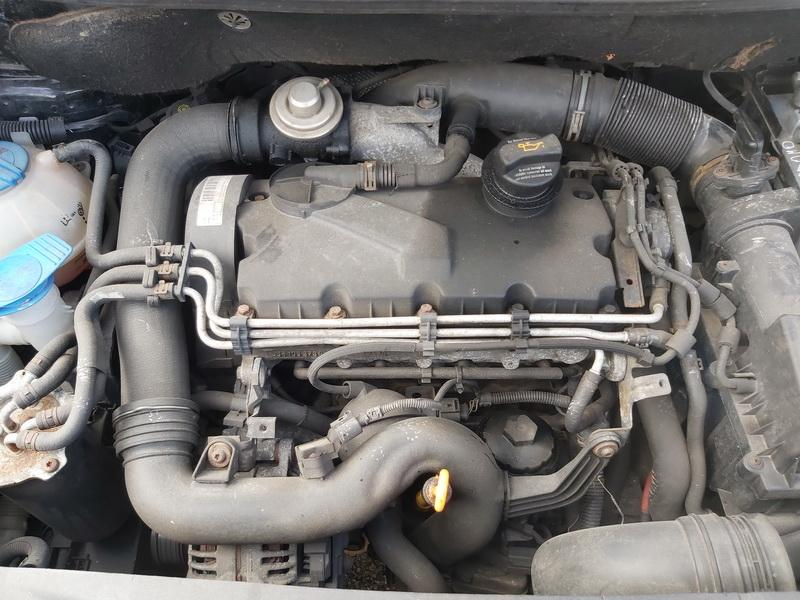 Naudotos automobiliu dallys Foto 2 Volkswagen CADDY 2005 1.9 Mechaninė Komercinis 2/3 d. Juoda 2020-4-03 A5192