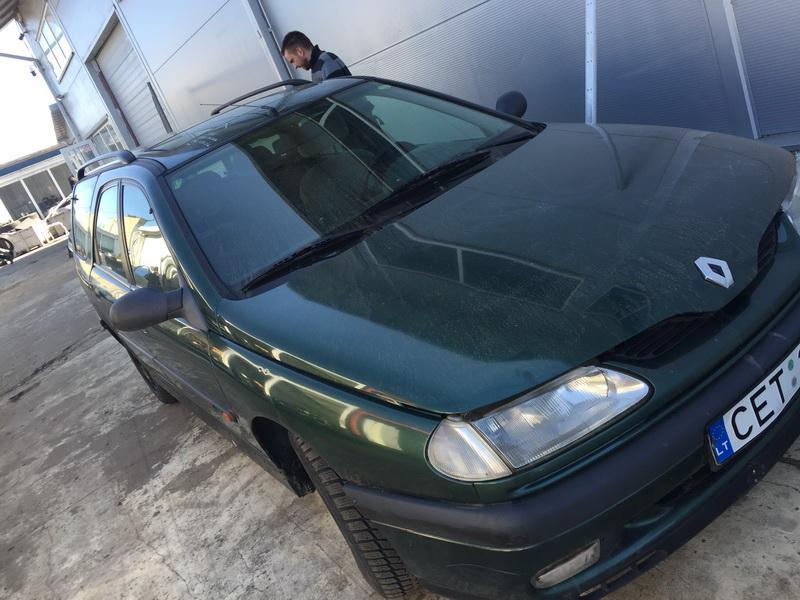 Naudotos automobilio dalys Renault LAGUNA 1996 2.2 Mechaninė Universalas 4/5 d. Zalia 2018-4-17