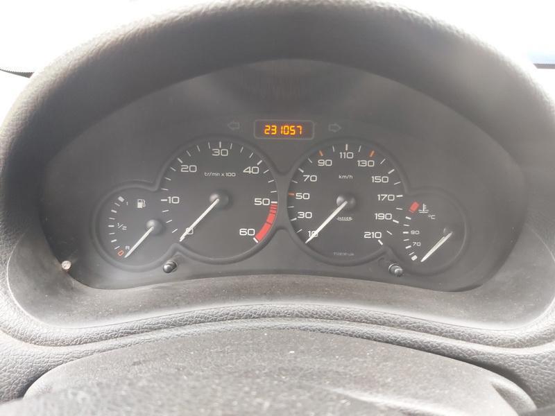 Naudotos automobiliu dallys Foto 6 Peugeot 206 2002 2.0 Mechaninė Hečbekas 4/5 d. Geltona 2020-10-14 A5755