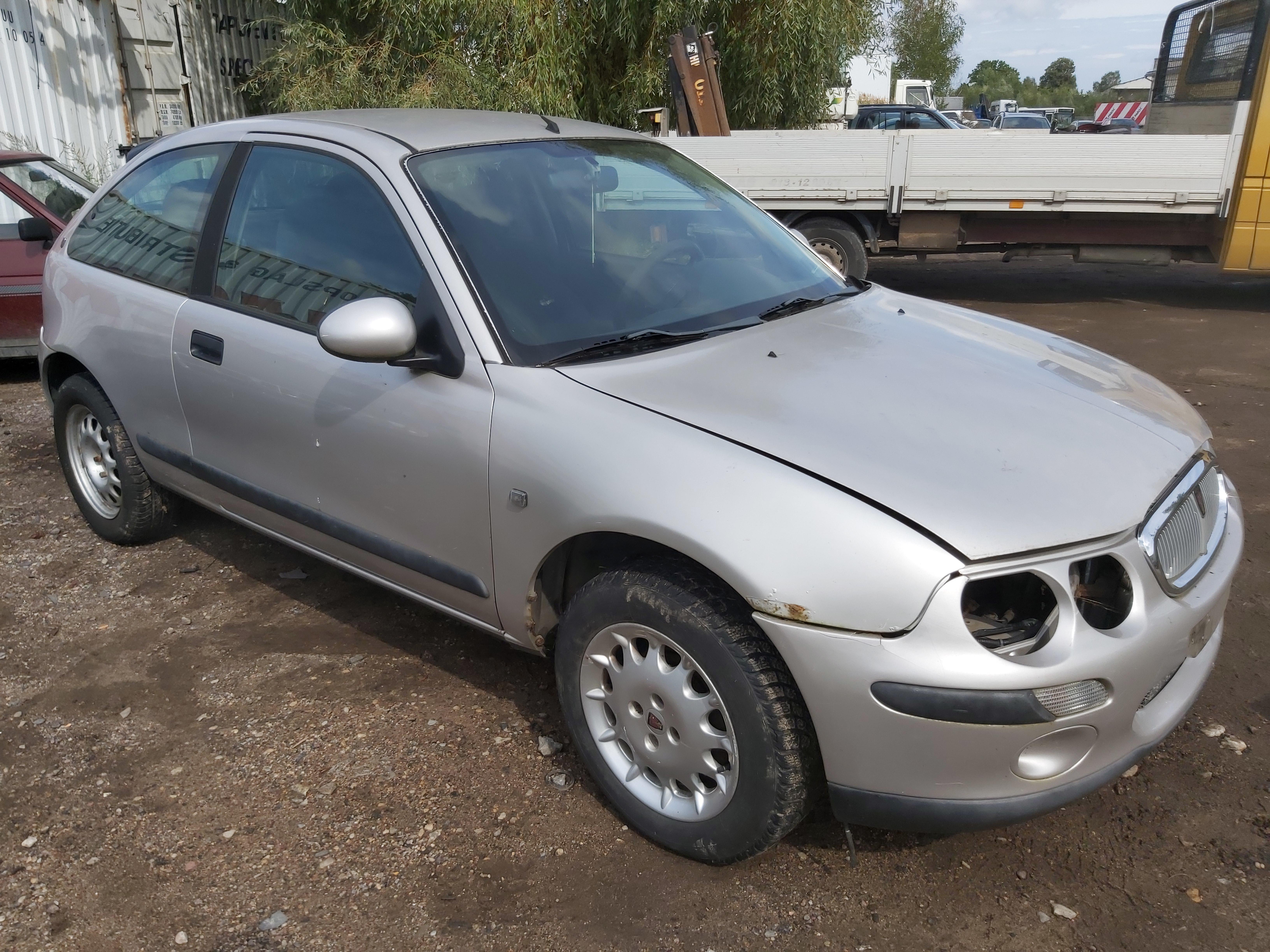 Naudotos automobilio dalys Rover 25 2001 1.4 Mechaninė Hečbekas 4/5 d. Pilka 2020-8-24