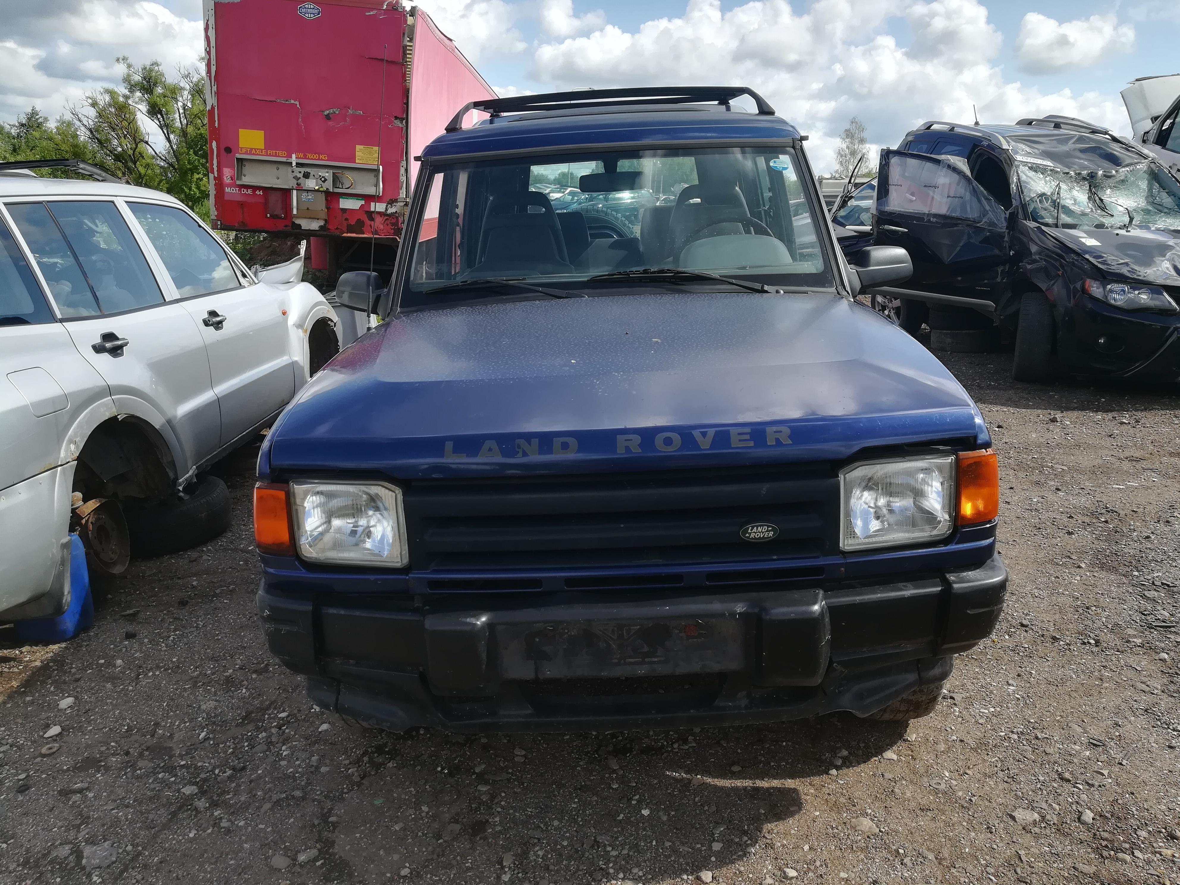 Naudotos automobilio dalys Land-Rover DISCOVERY 1995 2.5 Mechaninė Visureigis 4/5 d. Melyna 2019-7-12