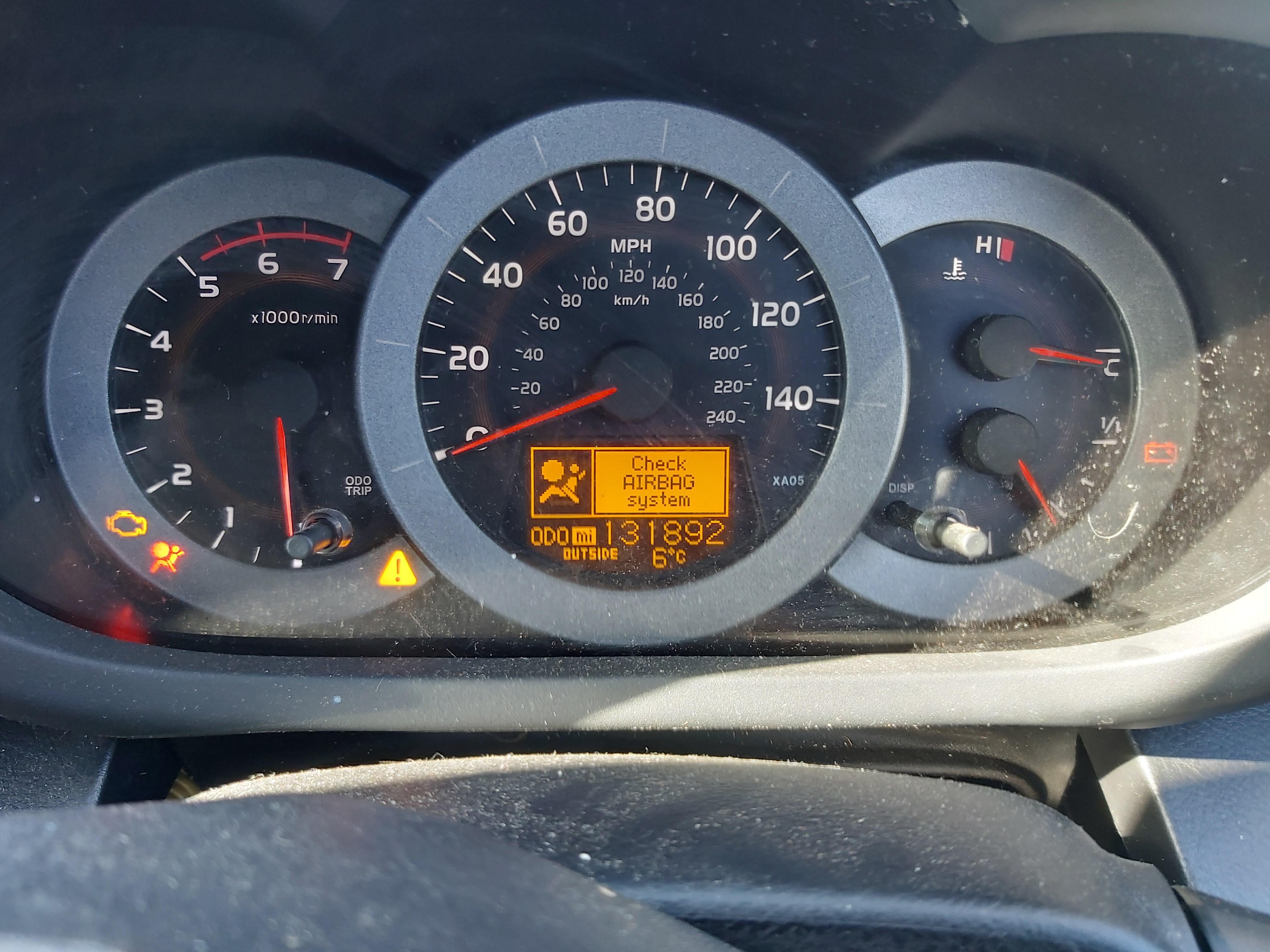 Подержанные Автозапчасти Foto 3 Toyota RAV-4 2006 2.2 машиностроение напрямик 4/5 d. черный 2020-3-24 A5153