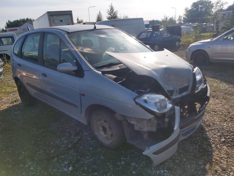 Naudotos automobilio dalys Renault SCENIC 2000 1.9 Mechaninė Vienatūris 4/5 d. Pilka 2020-9-16