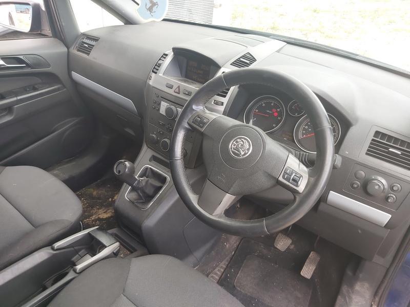Naudotos automobilio dalys Opel ZAFIRA 2006 1.9 Mechaninė Vienatūris 4/5 d. Melyna 2020-7-09