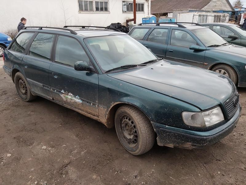 Naudotos automobiliu dallys Foto 3 Audi 100 1994 2.5 Mechaninė Universalas 4/5 d. Zalia 2020-1-20 A5025