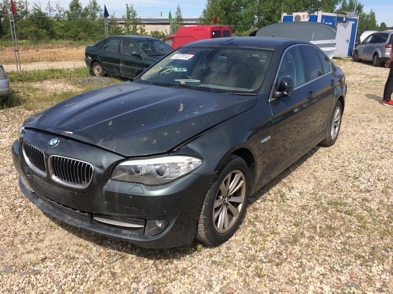 Naudotos automobiliu dallys Foto 8 BMW 5-SERIES 2011 2.0 Mechaninė Sedanas 4/5 d. Zalia 2018-6-15 A3877