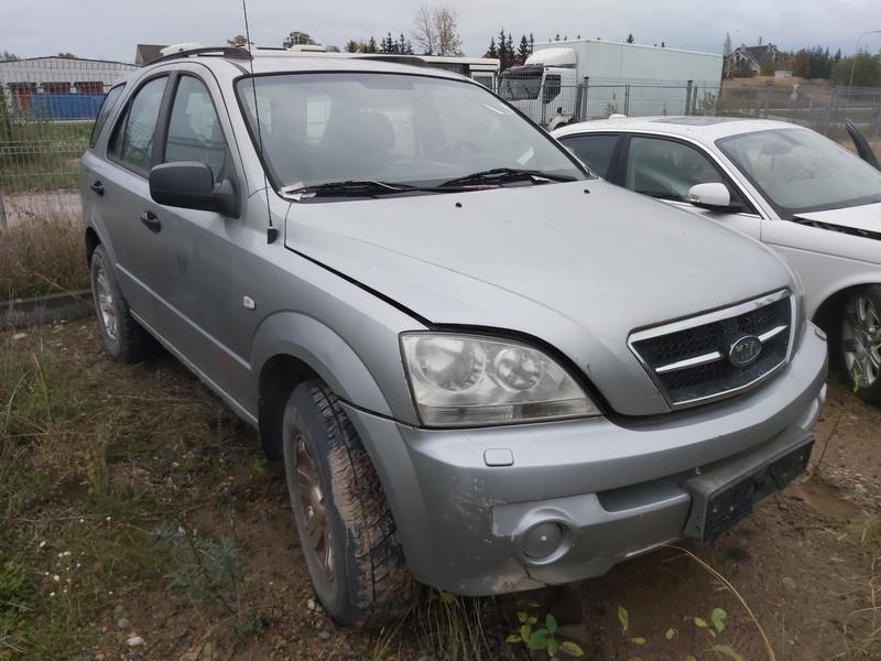 Naudotos automobilio dalys Kia SORENTO 2004 2.4 Mechaninė Visureigis 4/5 d. Pilka 2020-10-22