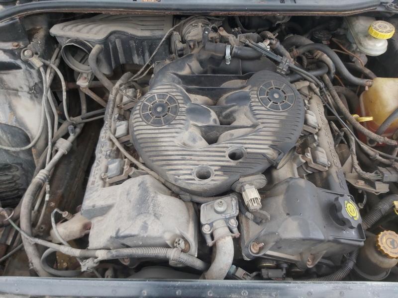Подержанные Автозапчасти Foto 2 Chrysler 300M 2004 2.7 автоматическая седан 4/5 d. черный 2020-11-18 A5833