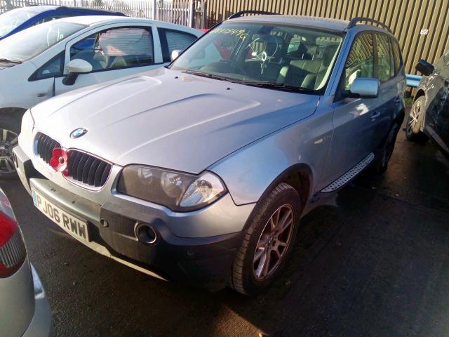 Naudotos automobilio dalys BMW X3 2006 2.0 Mechaninė Visureigis 4/5 d. Pilka 2020-1-15