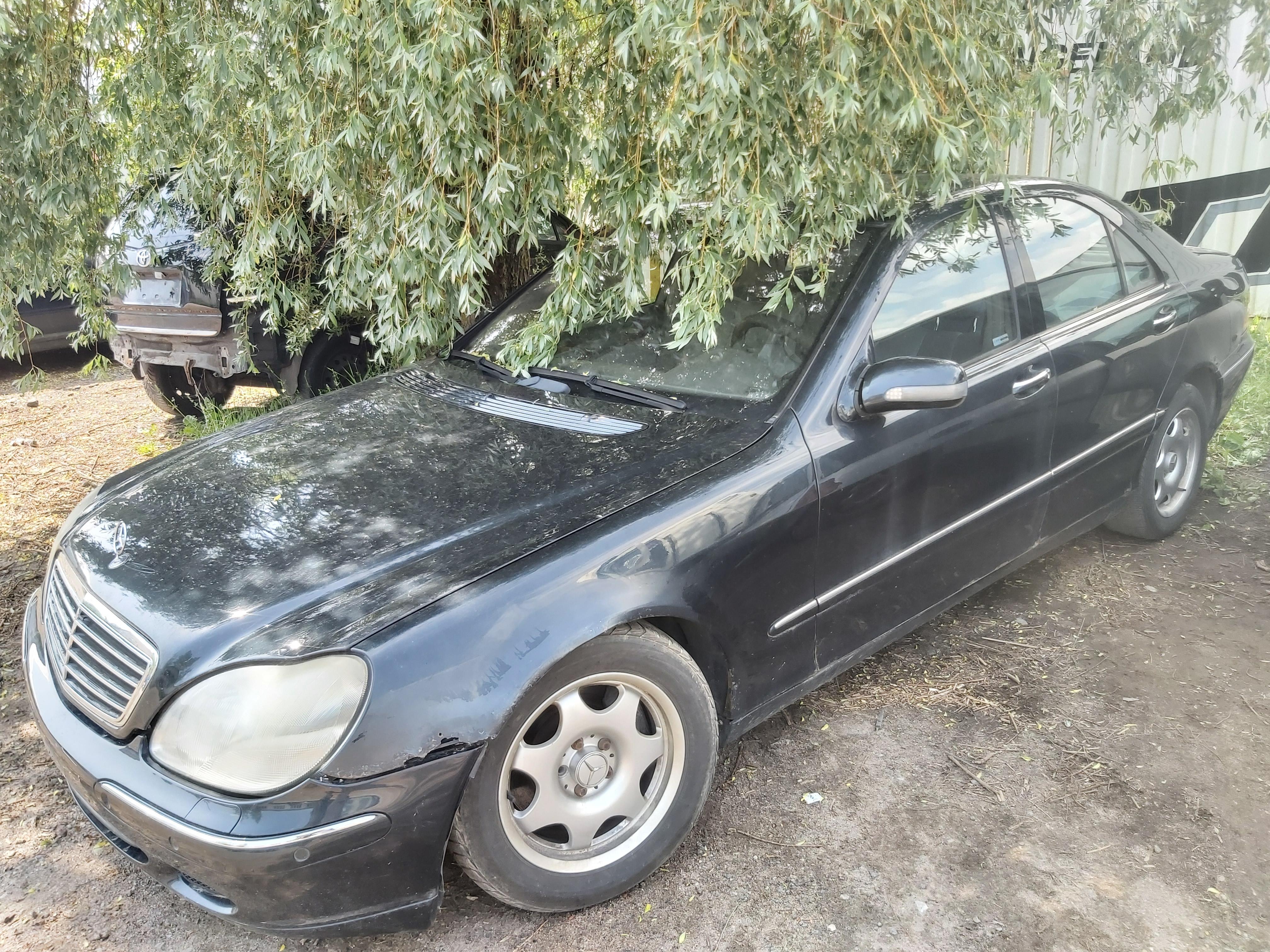 Подержанные Автозапчасти Mercedes-Benz S-CLASS 2001 4.0 автоматическая седан 4/5 d. синий 2020-6-11