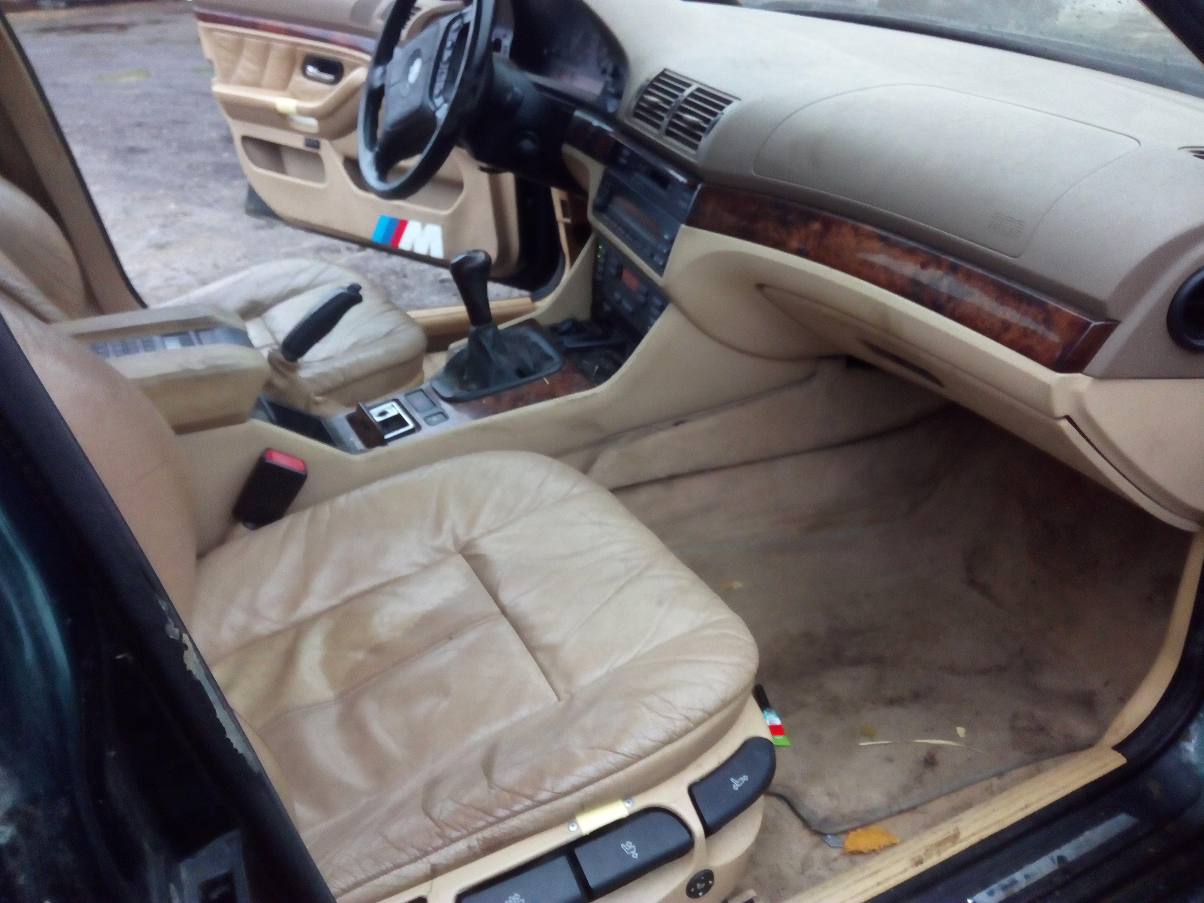 Naudotos automobiliu dallys Foto 4 BMW 5-SERIES 1997 2.5 Mechaninė Sedanas 4/5 d. Zalia 2018-1-03 A3578